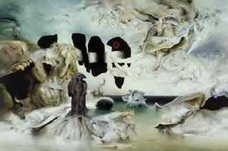 James Gleeson, Rituals for an Anxious Spring 1987, oil on canvas, 182.5 x 274.5 cm, Heide Museum of Modern Art, © Gleeson O'Keefe Foundation